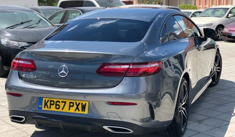 Mercedes E220d Coupe Premium Line 2017 full