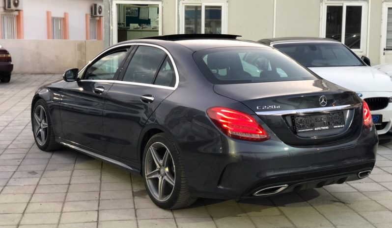 Mercedes C220d AMG Line Premium 2015 полный